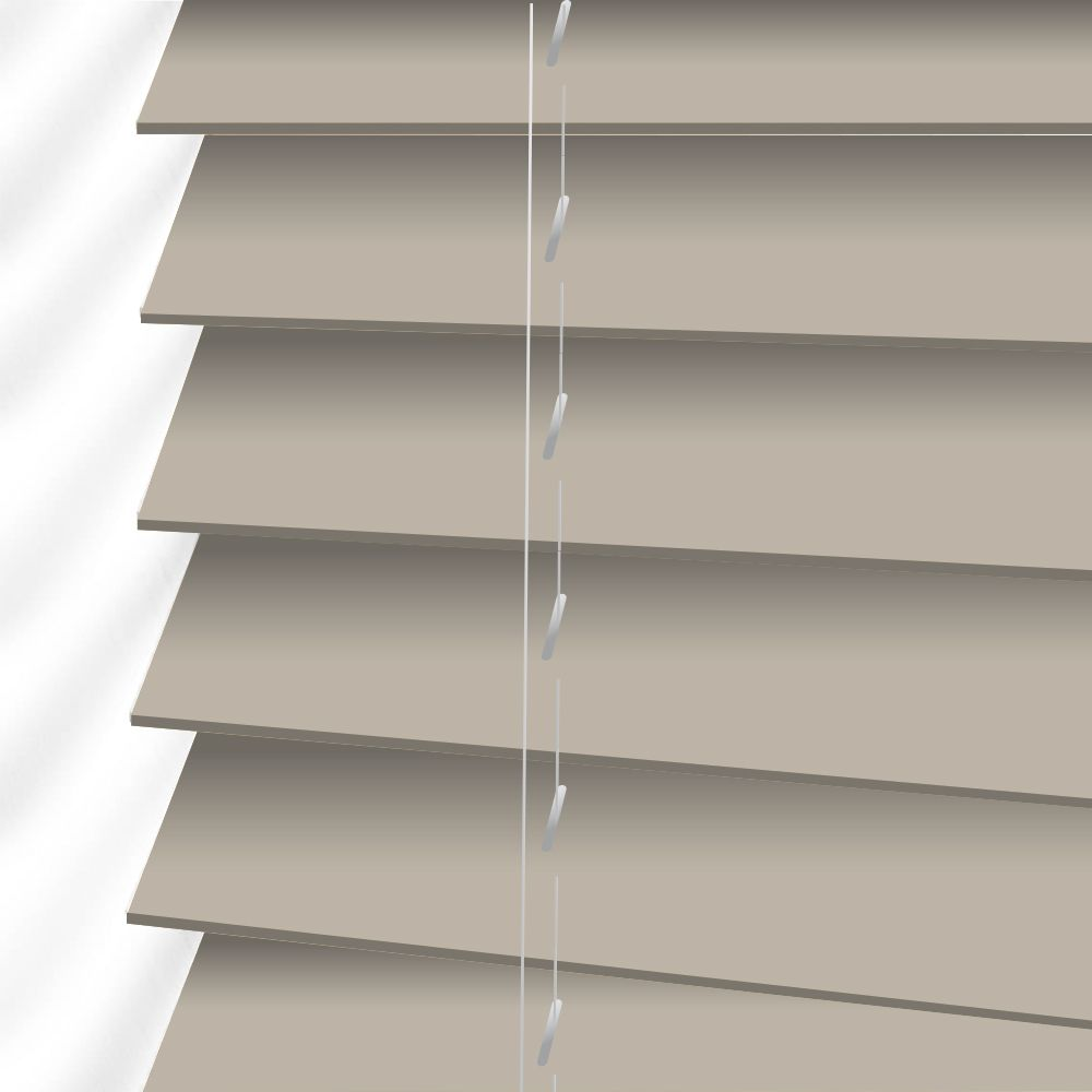 Faux Wood Venetian Blinds In Gravity Just Blinds