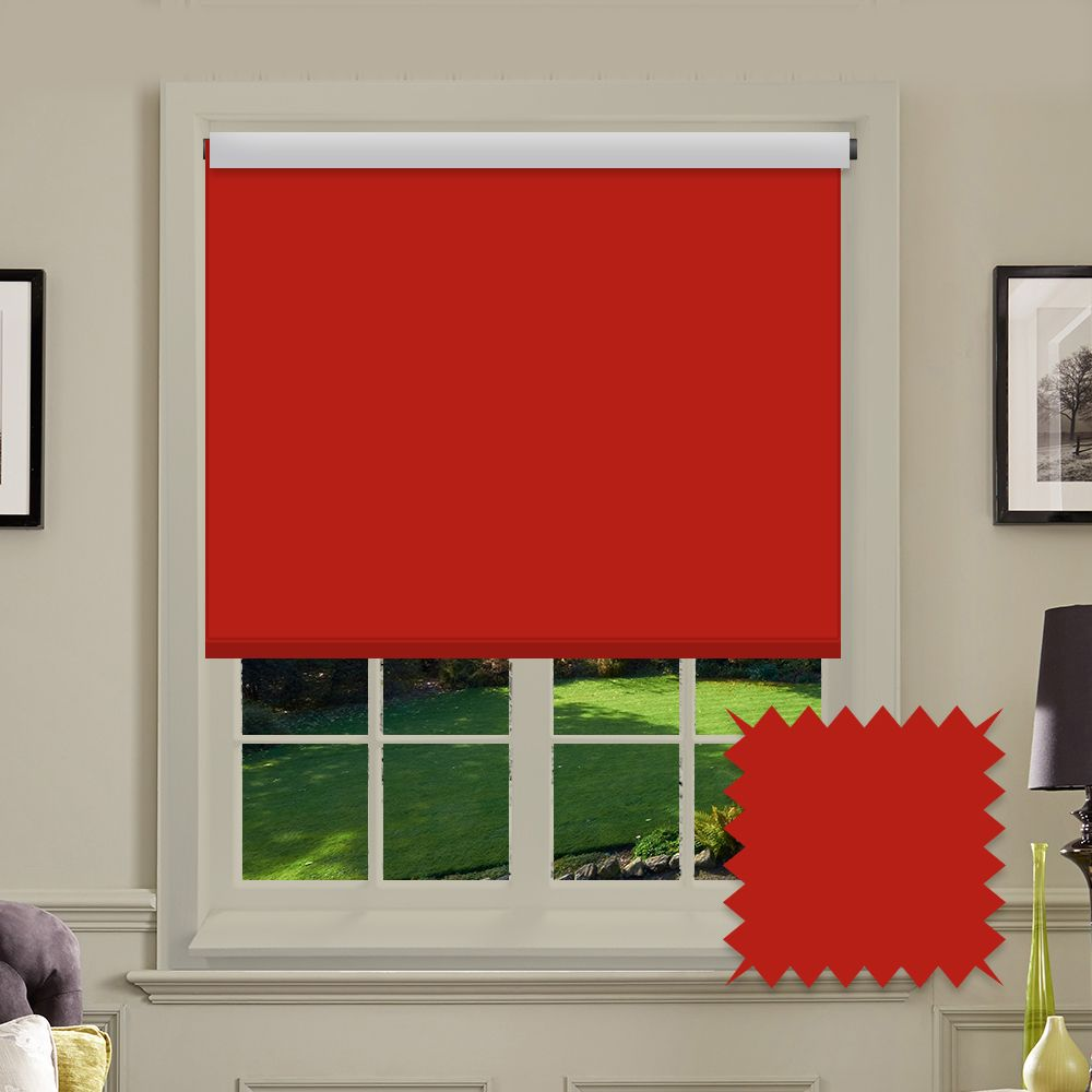 item blind vertical in a vibrant harmony portfolio red blinds bolton of kitchen