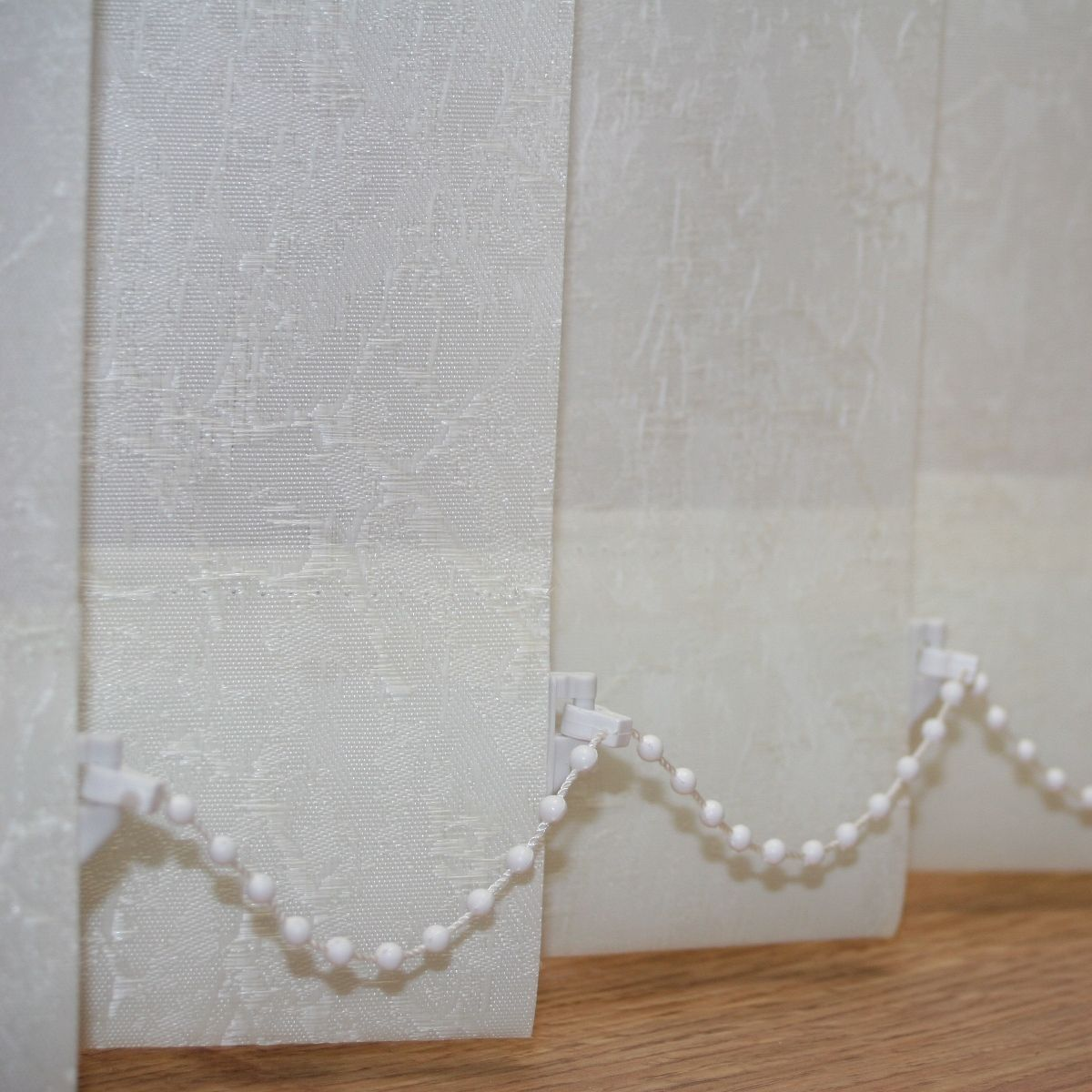 Cracked Ice Champagne or White patterned Replacement slats for