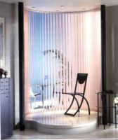 Curved Rail For Vertical Blinds - Just Blinds