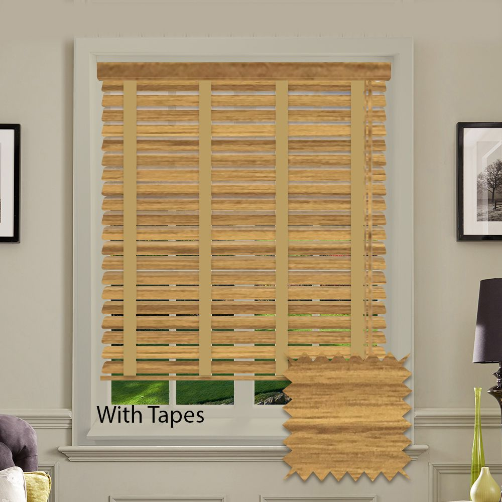 Expressions Faux Wood Venetian Blinds In Medium Oak Just