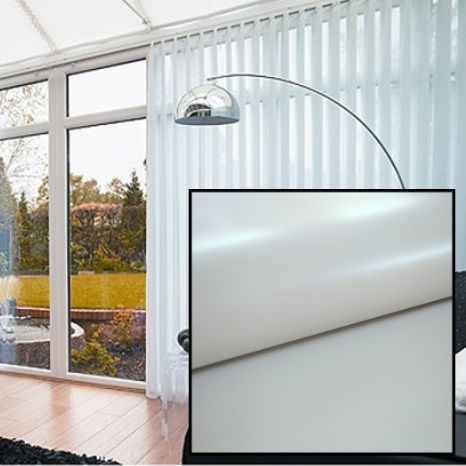 Grey PVC BLACKOUT Replacement Slats with HEAT REFLECTIVE COATING - Just Blinds
