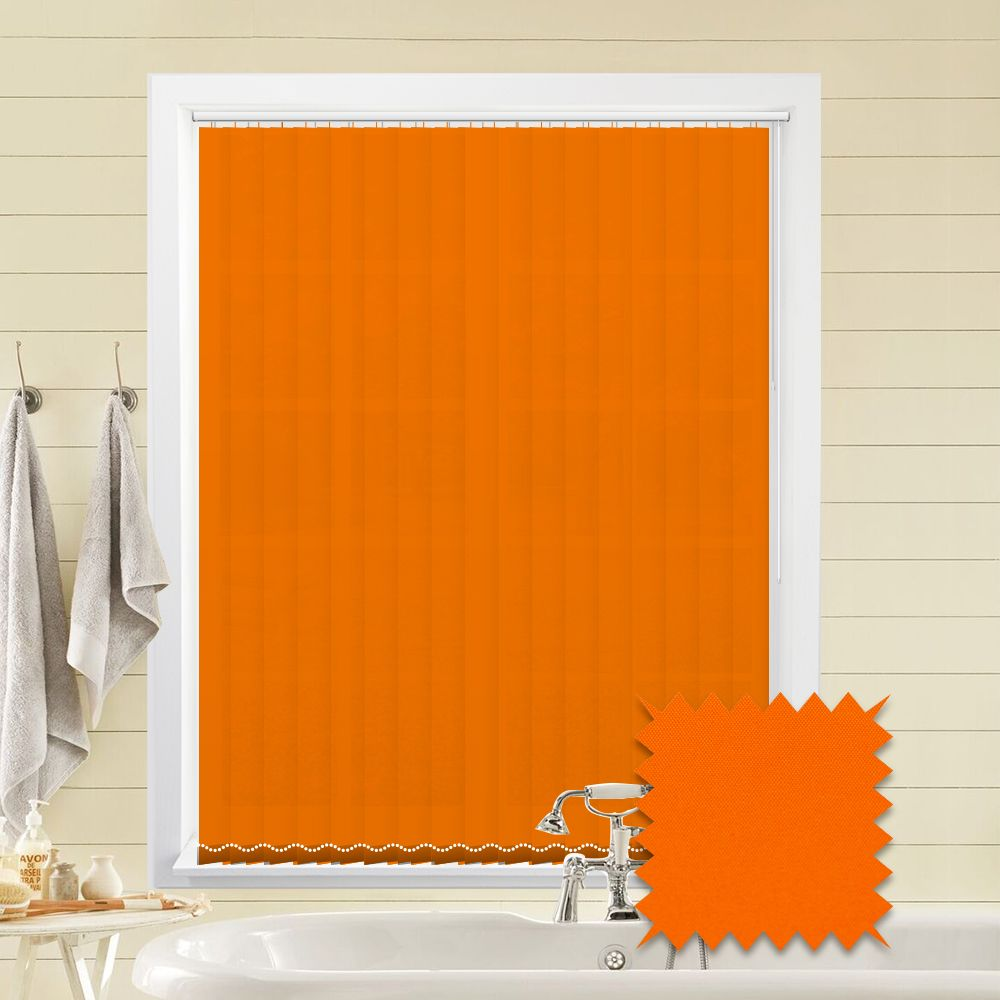 Orange Vertical Blinds Orange Blinds Tangerine Tango