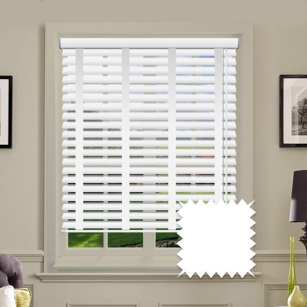 Sunwood Faux Wood Venetian Blinds In True With Tapes