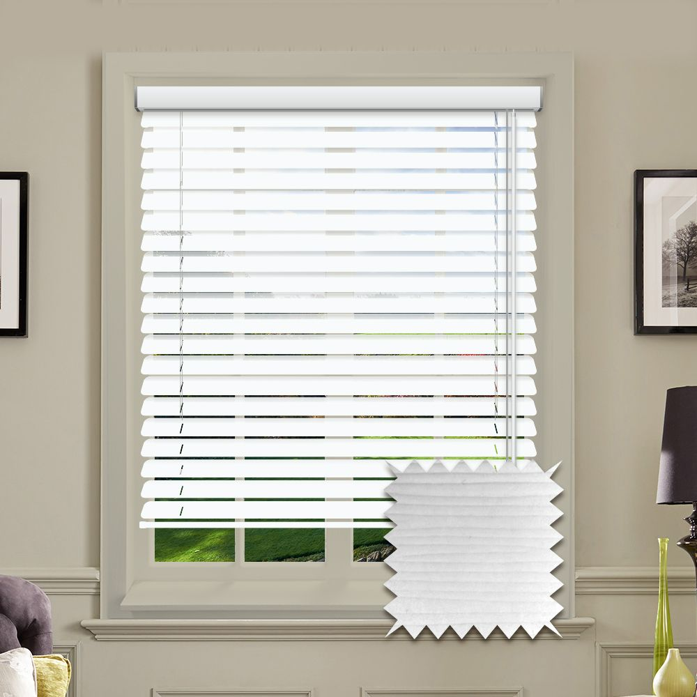 Hollywood Faux Wood Venetian Blinds In Arctic White Just