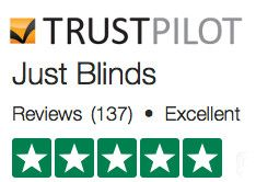 Just Blinds Trust Pilot review score